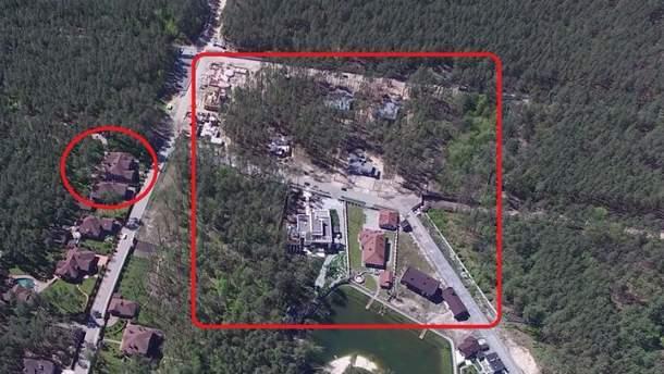 На території заказнику триває незаконне будівництво