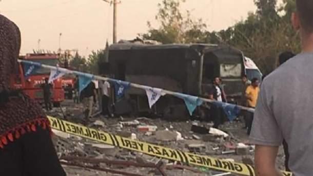 На востоке Турции прогремел взрыв