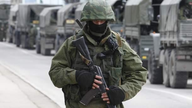 Окупаційні війська в Криму