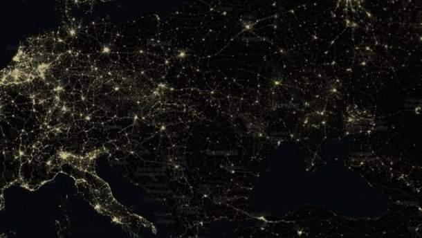 Световые карты