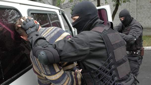 Сотрудники СБУ эффективно борются с терроризмом (иллюстрация)