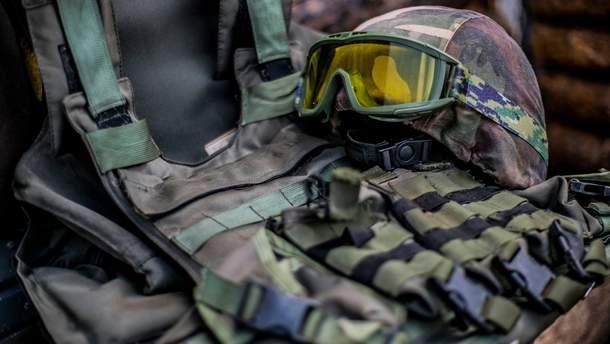 Обмундирование военного