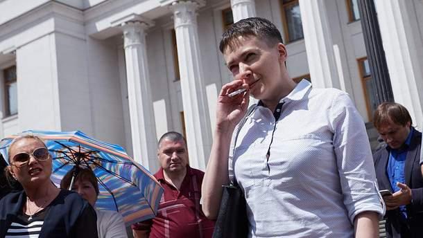 """Савченко к Афанасьеву: """"Надо иметь клепку в голове """""""