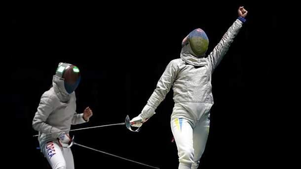 Ольга Харлан на Олімпіаді