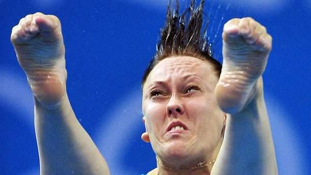 Російська спортсменка Надія Бажина