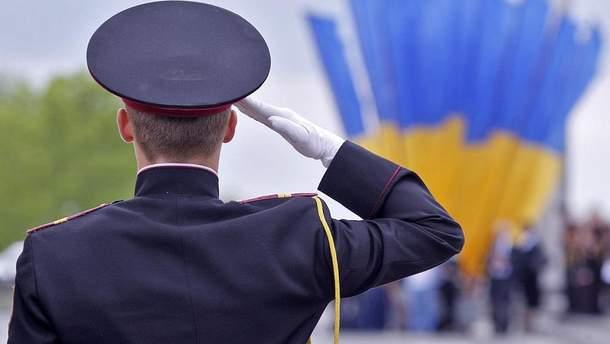 Военный в Киеве