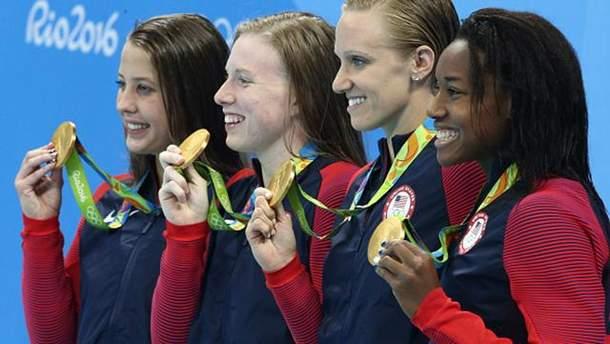 Американські спортсмени завоювали 1000-е
