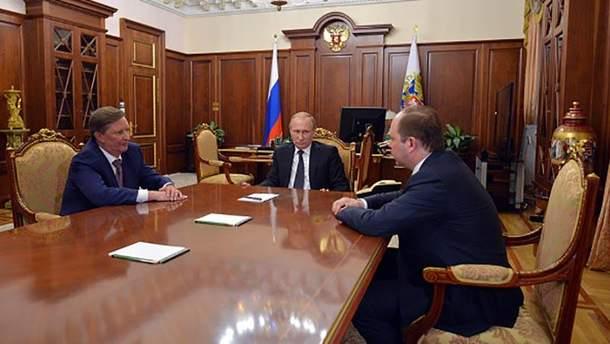 Владимир Путин собирает друзей