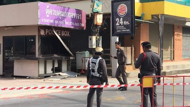 При взрывах в Таиланде погибли четыре человека