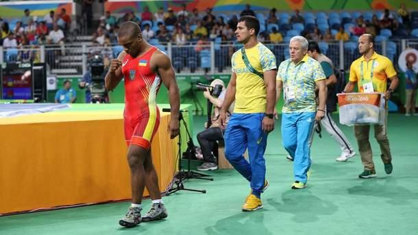 Жан Беленюк (слева) в Рио