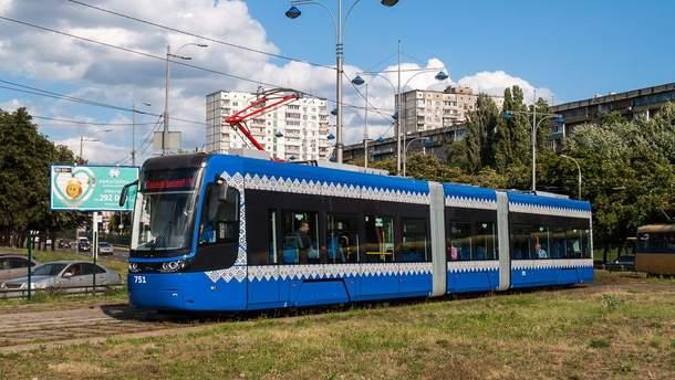 Новый киевский трамвайчик