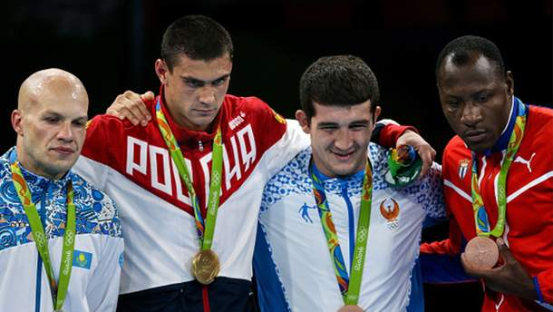 Нагородження на Олімпіаді-2016