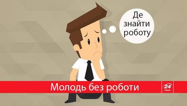 Каждый четвертый молодой украинец – без работы