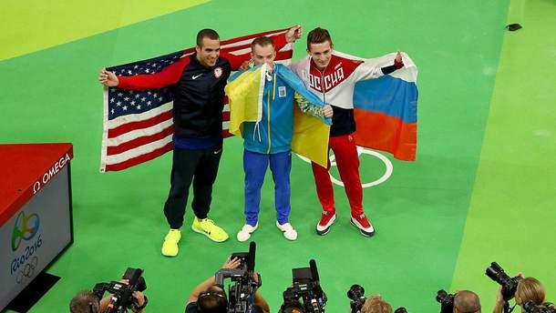 Украинский гимн в Рио благодаря донетчанину – в соцсетях радуются золоту Верняева
