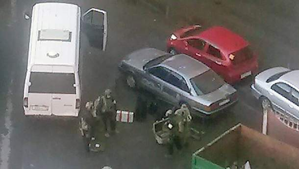 Спецоперація в Петербурзі