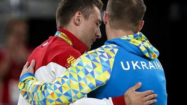 Давид Белявский и Олег Верняев