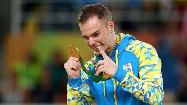 Олег Верняев получил первое олимпийское золото для Украины