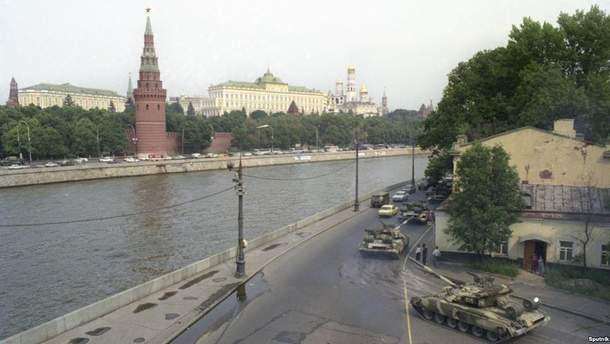 Танки у Москві