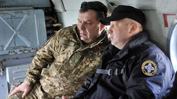 Степан Полторак  и Александр Турчинов