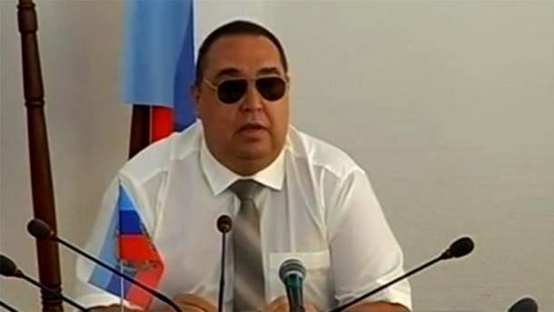 """Главарь так называемой """"ЛНР"""" Игорь Плотницкий"""