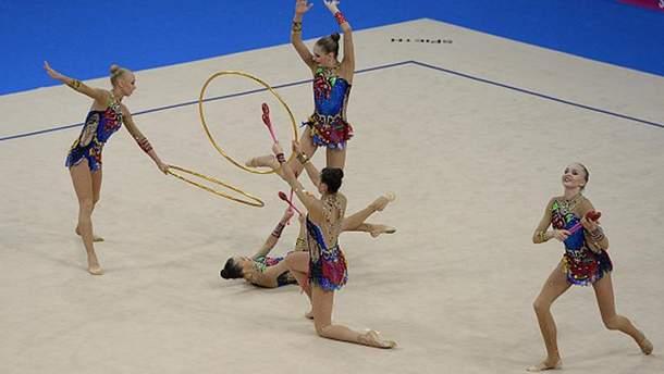 Сборная России по художественной гимнастике