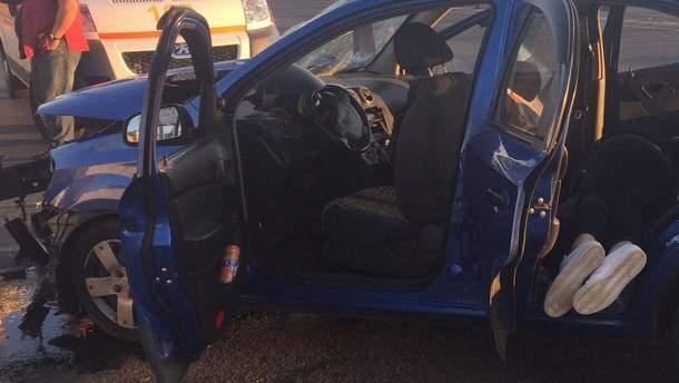 Дівчина-пасажир загинула на місці