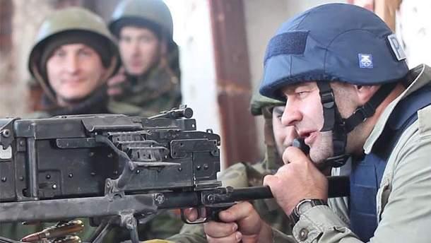 Михайло Пореченков на Донбасі