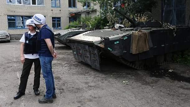 Представники місії ОБСЄ на Донбасі