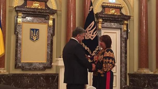 Петро Порошенко дав орден Яресько