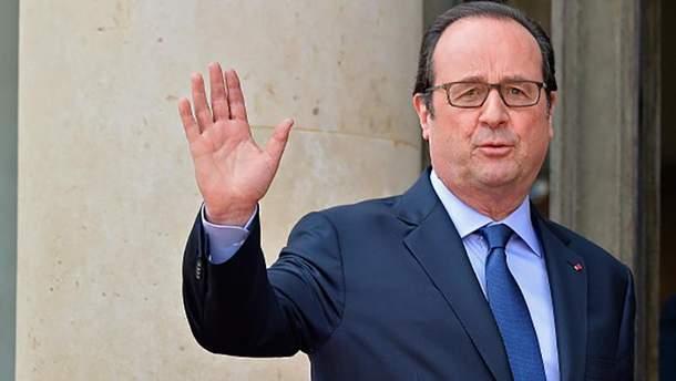 Франсуа Олланд привітав Україну