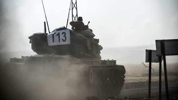 Турецькі танки у Сирії