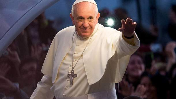 Папа помолився за мир в Україні