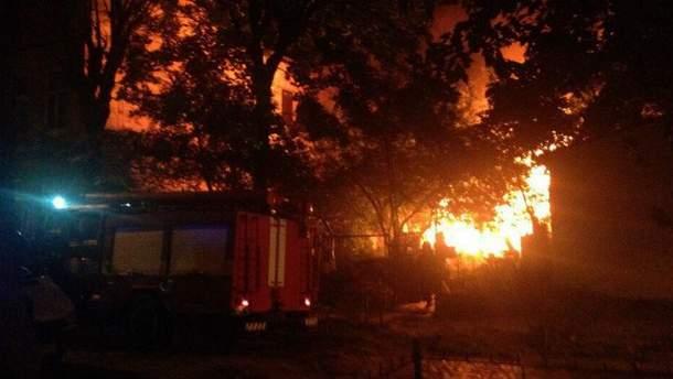 Пожежа сталася на вулиці Федьковича