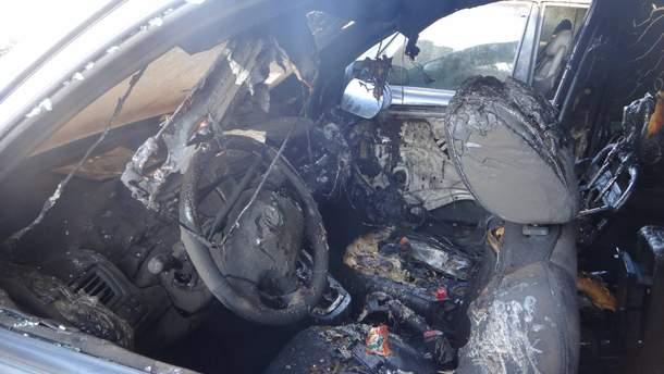 Сожгли авто