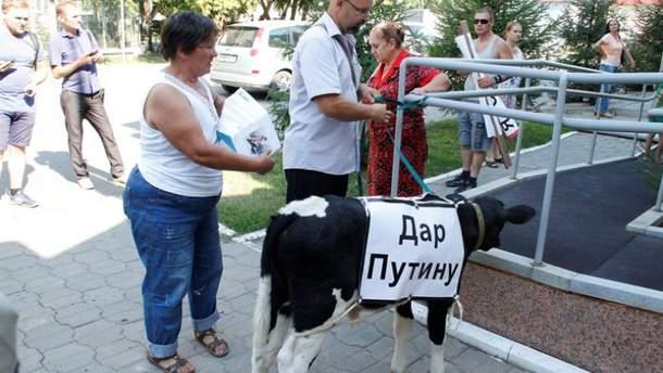 Путін тепер має власну худобу