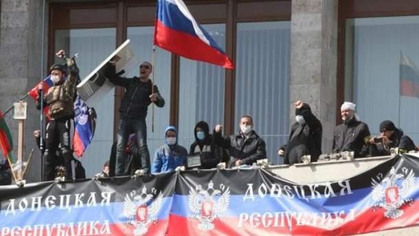 Сепаратисти на Донбасі