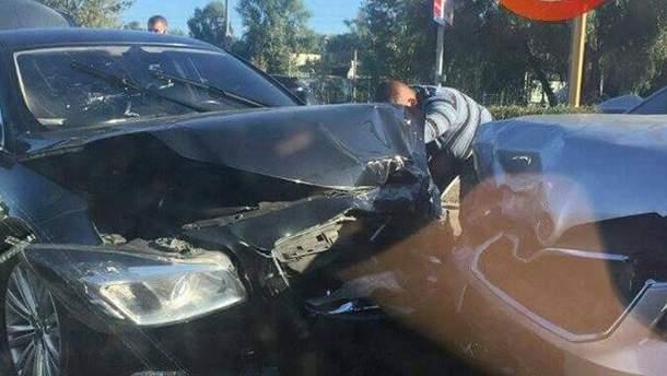 Авто з АП потрапило в аварію