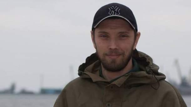 Боєць АТО Володимир Шелудько