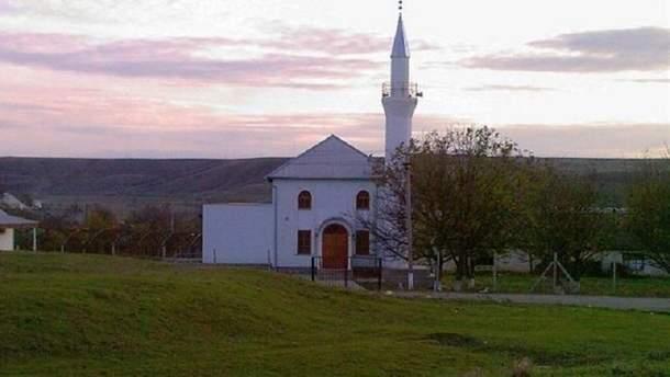Мечеть в селе Пожарское