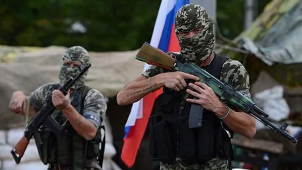 Російські терористи на Донбасі
