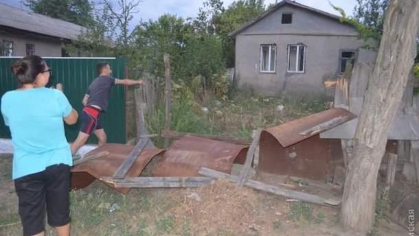 Погроми будинків на Одещині