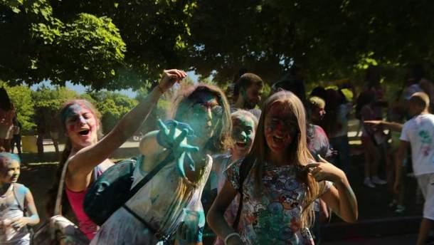 Фестиваль фарб