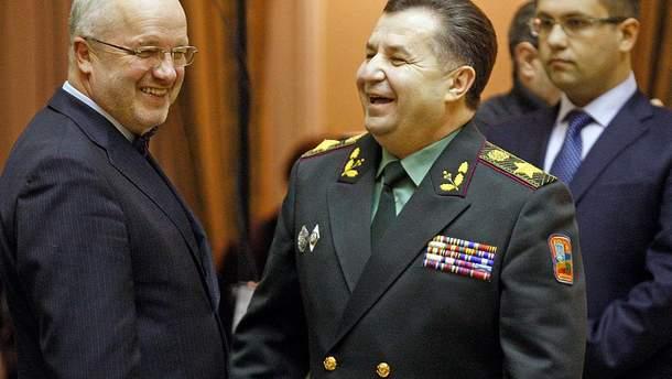 Олекас встретился с украинским министром Полтораком