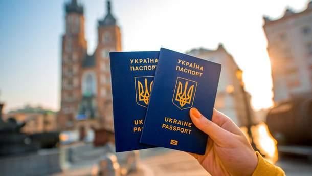 Українські паспорти у Європі