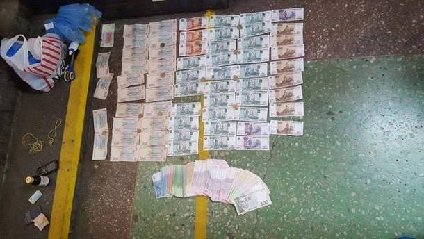 Отримані гроші