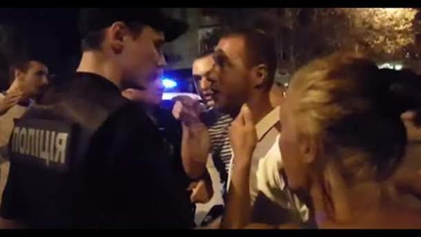 Поліція не зуміла вирішити конфлікт