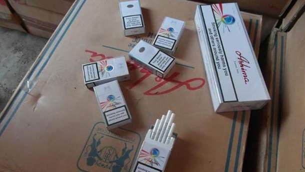 Контрафактные сигареты