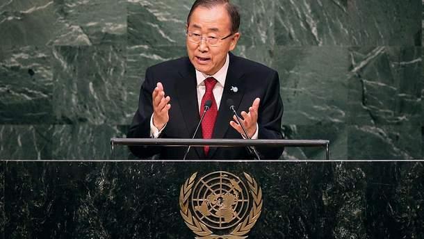 Україна не підтримає людину, яка буде займати  таку ж позицію, як і Пан Гі Мун
