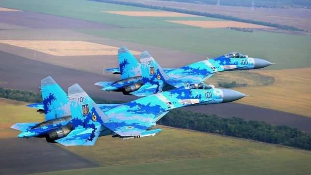 Су-27 Воздушных сил Украины