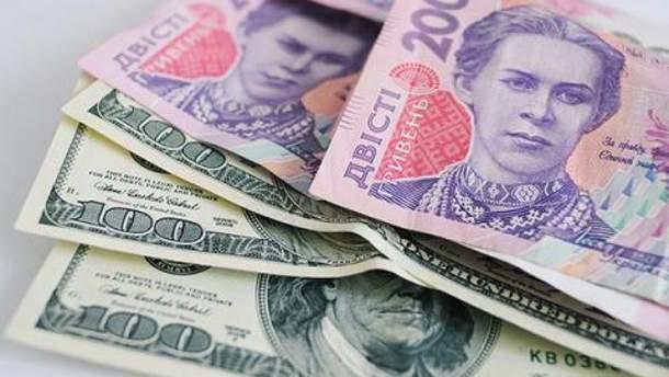 Гривна и доллар